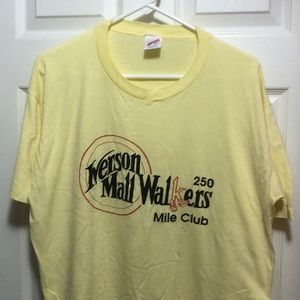 Vintage 250 mile walkers club shirt